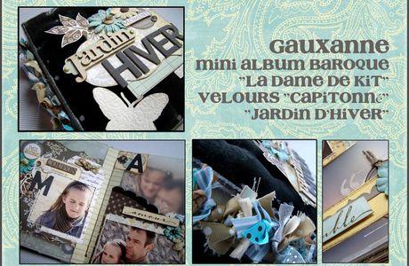 """Album Baroque""""Jardin d'Hiver"""" - quelques ktis supplémentaires...."""