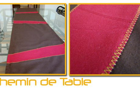 Couture : Chemin de table