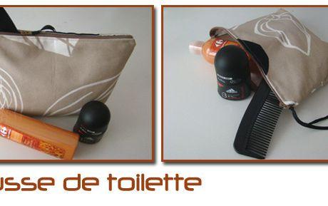 Couture : Trousse de toilette
