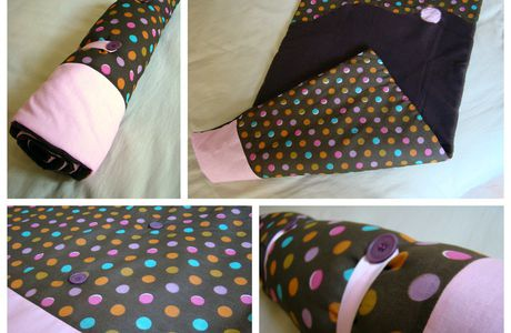 Couture : couverture/tapis nomade