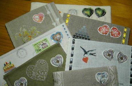 Des timbres de coeur