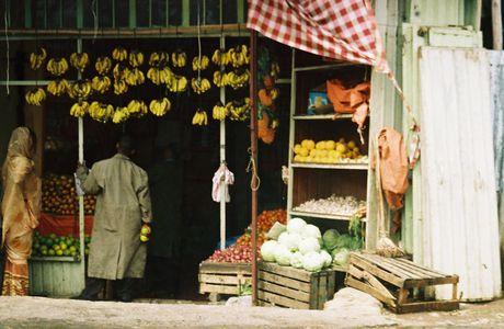 Addis Abeba juin 2005