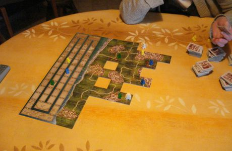 carcassonne mayflower / dragons du mekong / endeavor