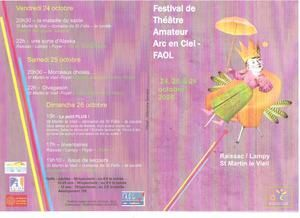 """Issue de secours"" au festival Arc en Ciel"