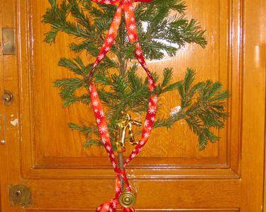 Noël frappe à la porte