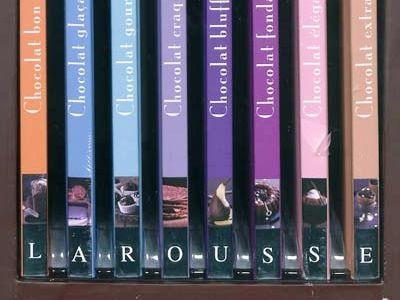 La petite bibliothèque du chocolat...