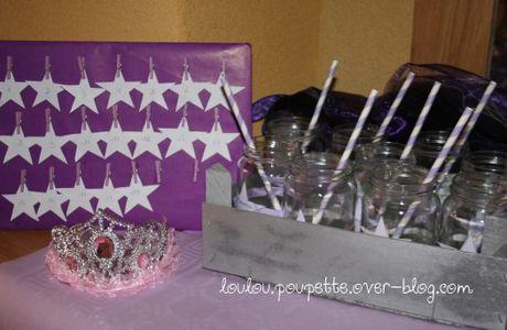 La fête d'anniversaire de Poupette sur le thème des étoiles...#1