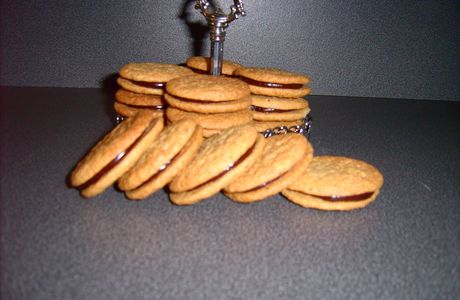 Biscuits choco-noisettes...