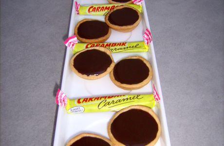 Mini-tartelettes aux carambars...