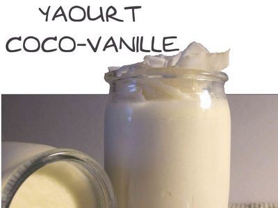 Yaourt Coco-Vanille
