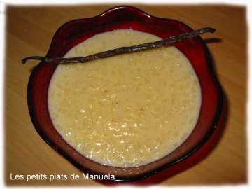 Riz au lait traditionnel