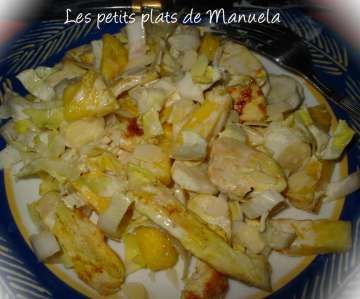 Salade indienne à l'ananas