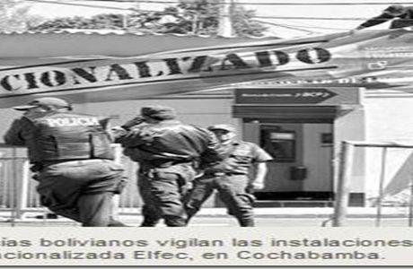 Bolivia nacionaliza eléctrica española