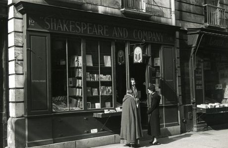 Paris, la librairie Shakespeare and Co.