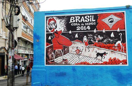 Brésil, la goutte d'eau a qui fait déborder la coupe... du Monde de Football 2014