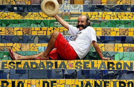 Rio de Janeiro, l'escalier Selarón