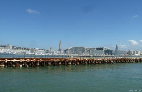 Voyage en cargo du Havre au Brésil (Bélem) - J1