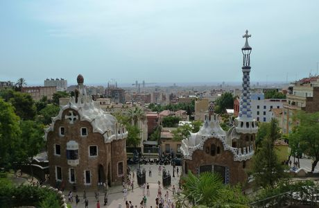 Barcelone, Gaudi, le parc Güell