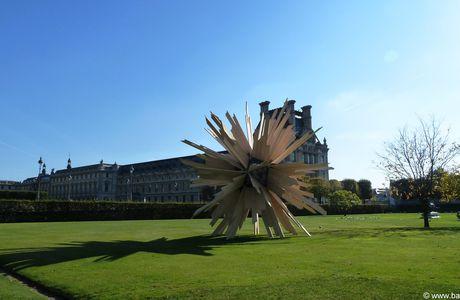 Paris, Tuileries, FIAC 2011 au jardin (suite)