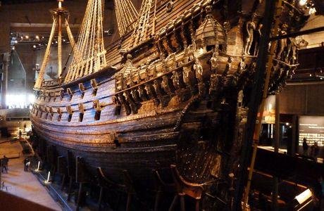Stockholm, le naufrage du Vasa