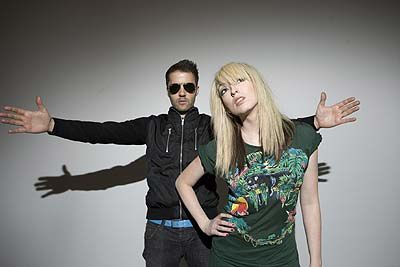 The Ting Tings : rouge sur blanc, tout fout le camp !