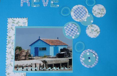 mon rêve en bleu...