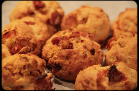 Cookies Chorizo/tomates séchées/parmesan