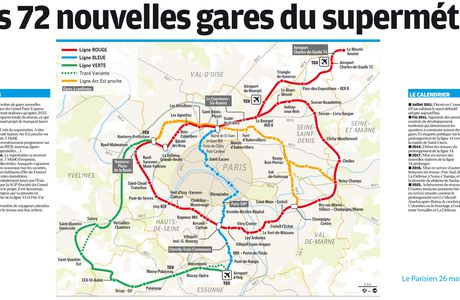 Grand Paris Express : le tracé final