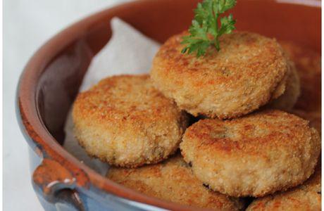 Croquettes au thon & ricotta (olives, câpres)