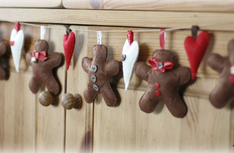 Gingerbread men...