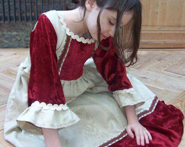 Robe de marquise (8/10 ans)