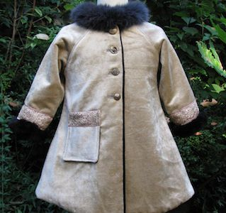 Manteau Alice (3 ans)