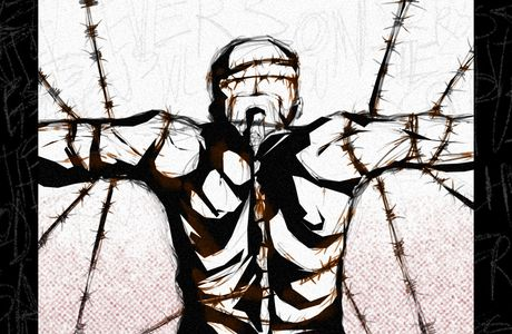 Barbed wires from my mind.