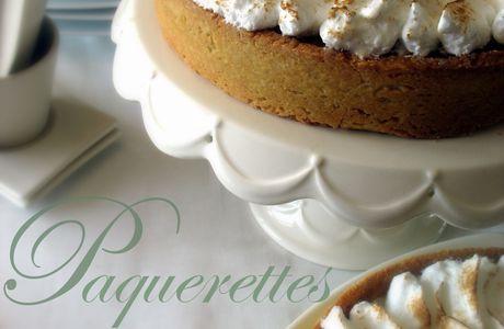 Les paquerettes meringuées (tarte au citron & tarte amandine aux abricots)