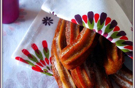 Los churros & leur sauce schoko-bon