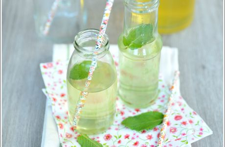 Sirop de menthe {home made}
