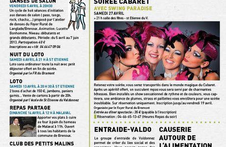 """Journal """"ça bouge dans le valdo"""" avril 2013 n°139"""
