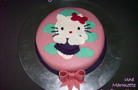 Gâteau Hello Kitty II...