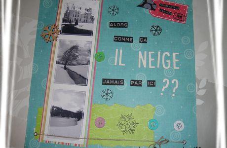Une page hivernale...