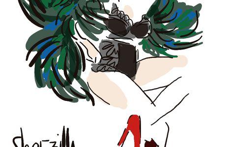 Shoezilla se déshabille pour Wacoal - ((Concours inside))