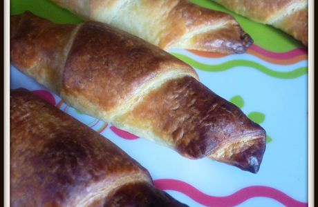 Mini Croissants Pralinoise