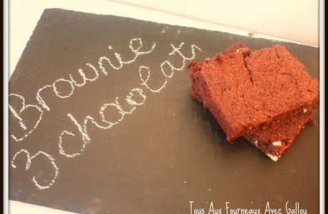 Jeu Interblogs # 16 : le brownie aux 3 chocolats