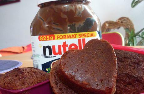 Mini cakes au Nutella