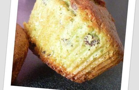 Muffins Pistache et Pépites de chocolat
