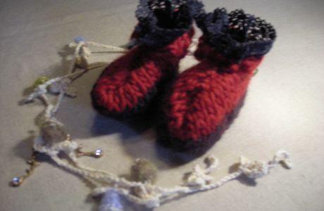 Des chaussons de star ...