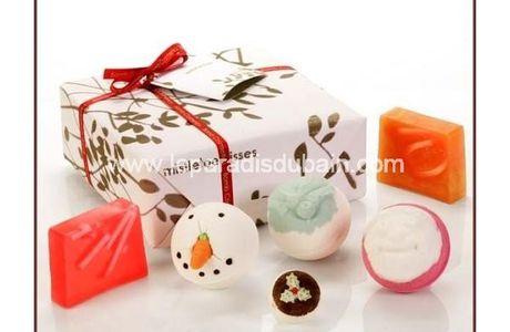 Concours Noël - un coffret qui met du baume au coeur & apporte du plaisir dans la salle de bain