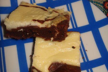 Chocolate & cheese cake