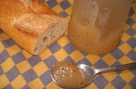 Gelée de poires façon pain d'épices