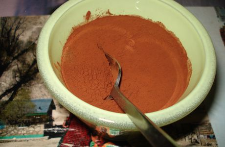Mousse chocolat gingembre