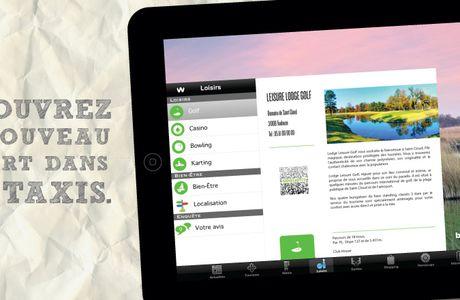 Des iPad dans les taxis de Toulouse